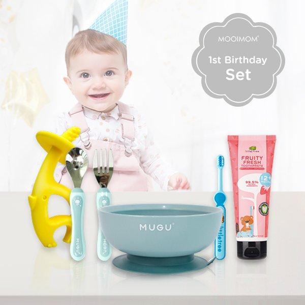 MOOIMOM First Baby Boy Birthday Gift C - Kado Ulang Tahun