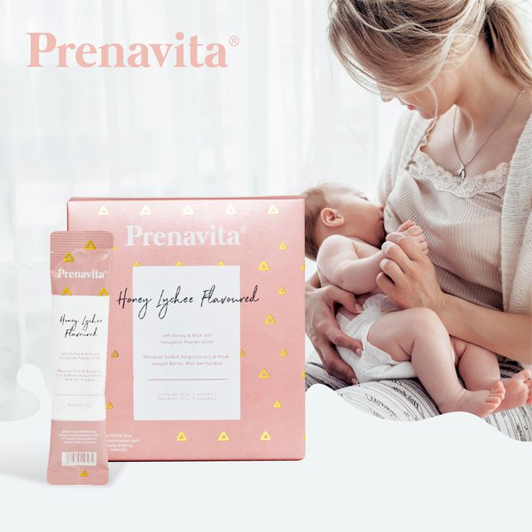 [PRENAVITA] Honey Lychee Flavoured  Powder Drink
