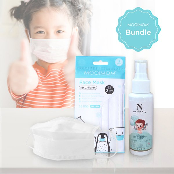 MOOIMOM X NATUREIN All Purpose Sanitizing Water 100ml