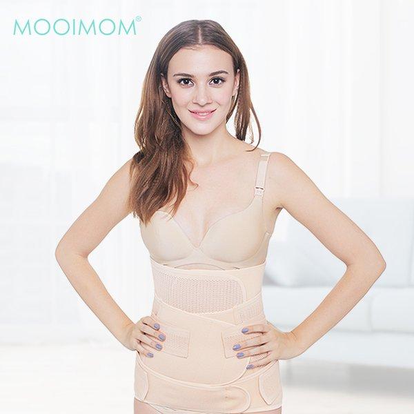 MOOIMOM 3 in 1 Postnatal Recovery Breathable Corset / Korset Pelangsing