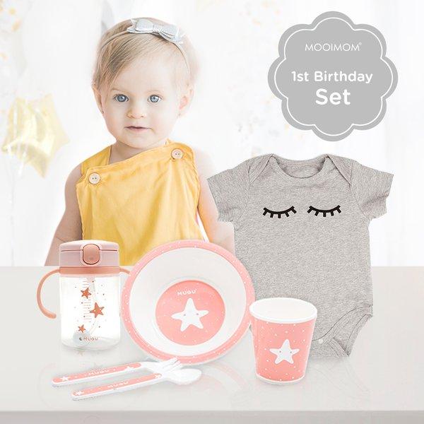 MOOIMOM First Baby Girl Birthday Gift A - Kado Ulang Tahun