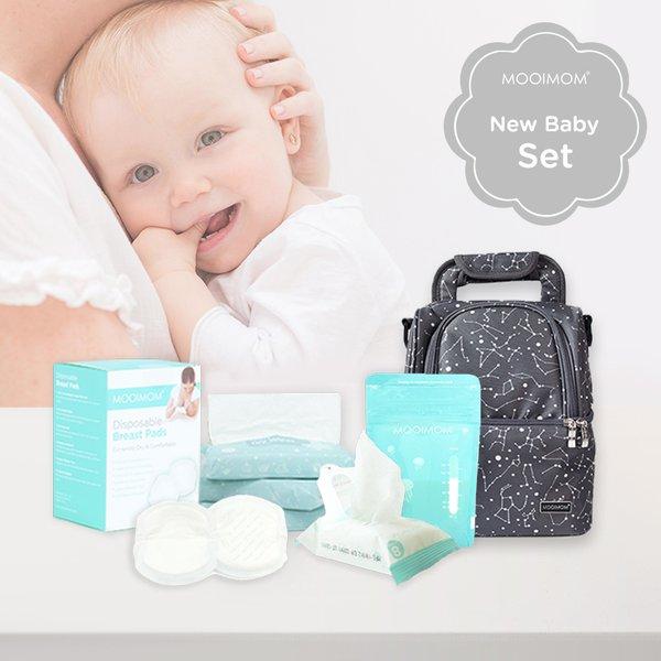 MOOIMOM New Born Baby Gift Unisex A - Kado Melahirkan