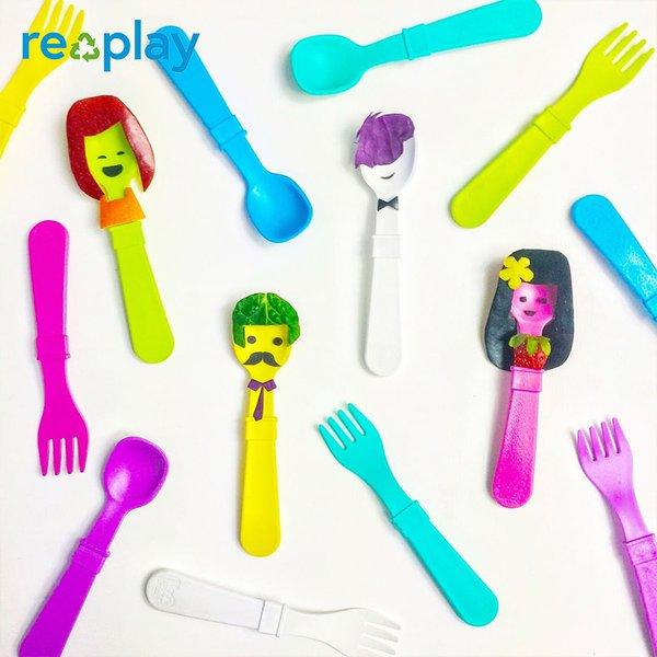 Re-Play Garpu Makan Plastik Daur Ulang | Fork