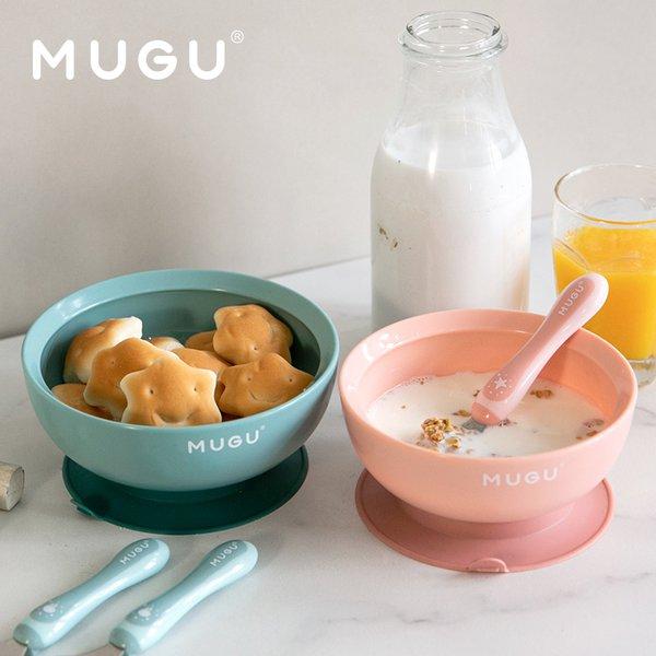 [MUGU] Mangkok Makan Bayi Anak Anti Tumpah | Suction Bowl 340 ml