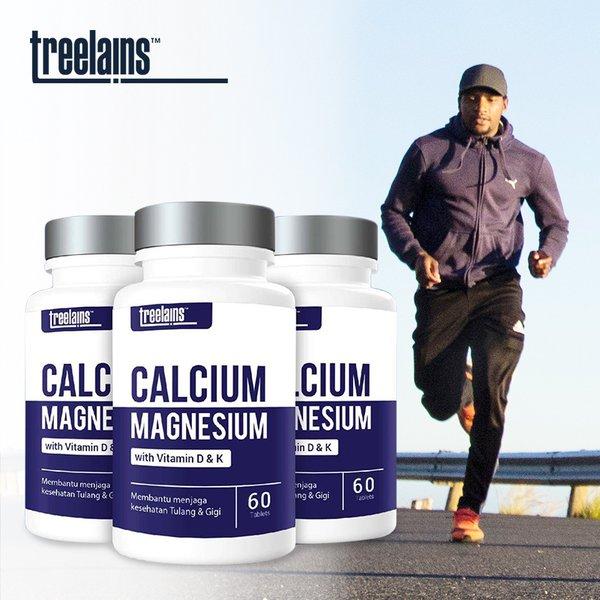 [TREELAINS] Calcium Magnesium with Vit D & K 60 pcs