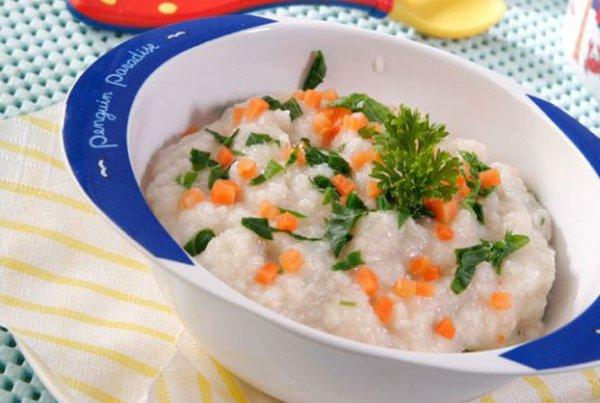 Resep Nasi Tim Tahu Brokoli, Makanan MPASI untuk Anak