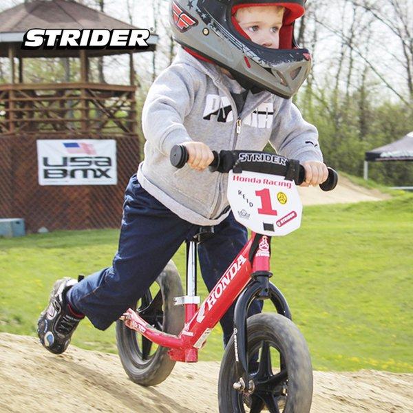[STRIDER BIKE] 12 Sport Custom Honda Red - Sepeda Anak