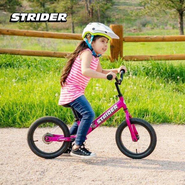 [STRIDER BIKE] 14X Sport Pink - Sepeda Anak