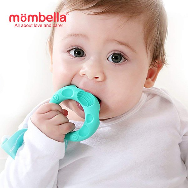 [MOMBELLA]  Educational Geometry Sensory Teether Toy Set - Sheep
