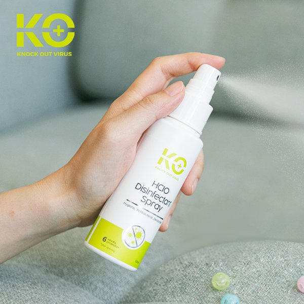 [KO+] HClO Disinfectant Spray 100ml - Spray Antibakteri