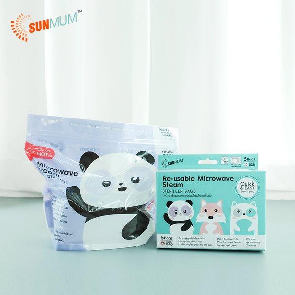 [SUNMUM] Steam Sterilizer bags Kantong Steril ASI (5 bag)