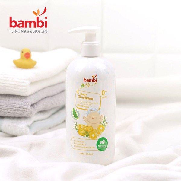 [BAMBI] Baby  Shampoo 500 ML - Shampoo Anak