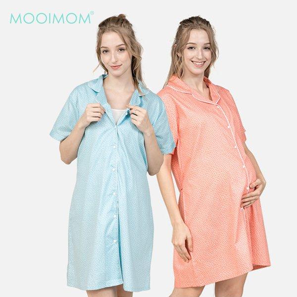 MOOIMOM Dress Flowery Sleepwear