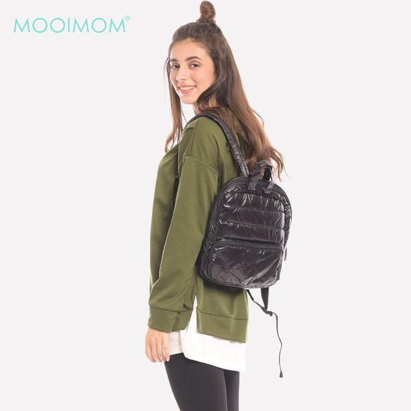MOOIMOM Green Long Sleeves Maternity & Nursing Hoodie Baju Hamil & Menyusui