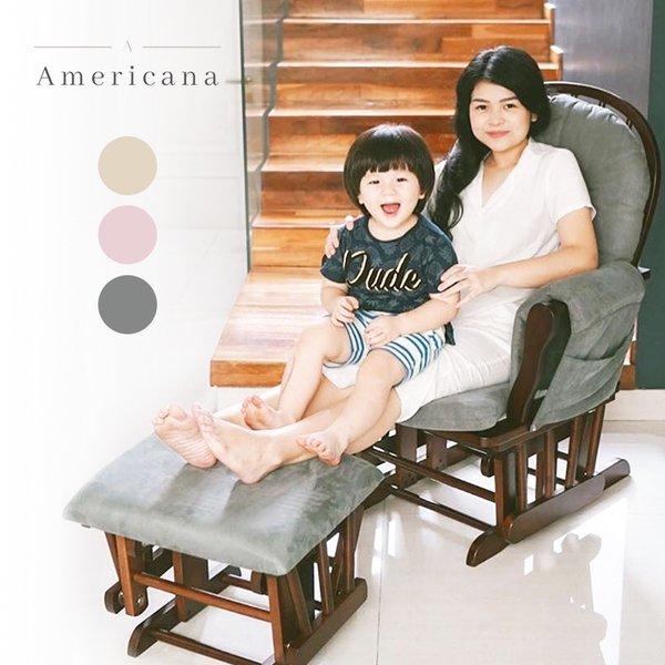 [AMERICANA] Round Rocking Chair - Kursi Goyang Menyusui
