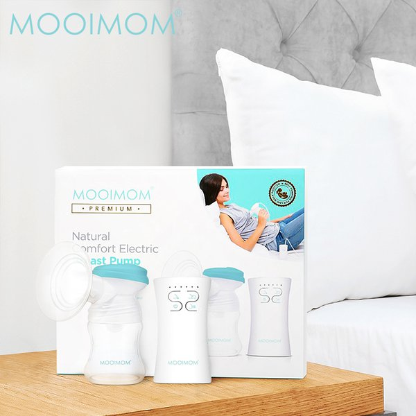 MOOIMOM NEW Natural Comfort Electric Breast Pump Pompa ASI Elektrik