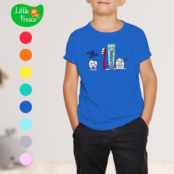 [LITTLE FRESCO] T-Shirt Anak Toothpaste