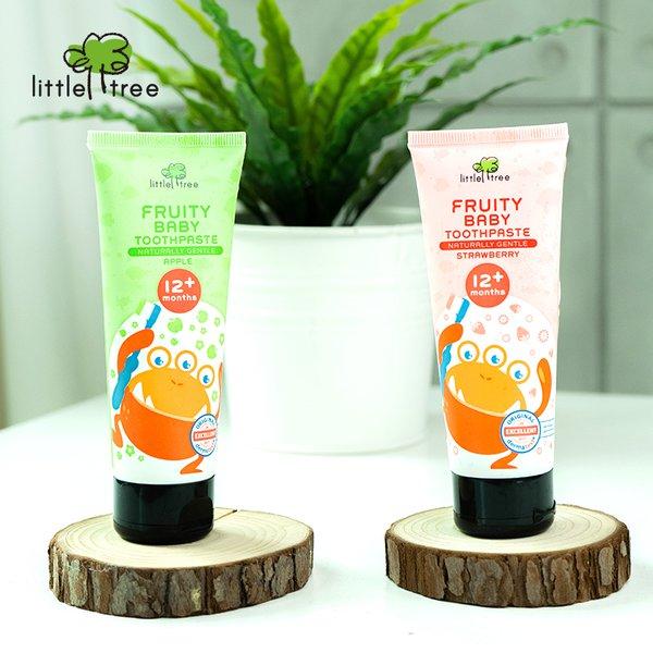 [LITTLE TREE] Fruity Fresh Toothpaste_12+months 70g - Pasta Gigi Organik Anak Bayi