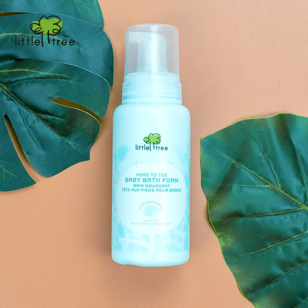 [LITTLE TREE] Head To Toe Baby Bath Foam Sabun & Shampo Bayi