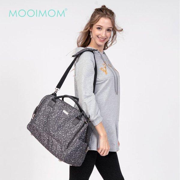 MOOIMOM Travel Diaper Bag