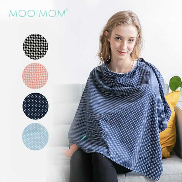 MOOIMOM Apron Celemek Menyusui - Breastfeeding Nursing Cover G00801