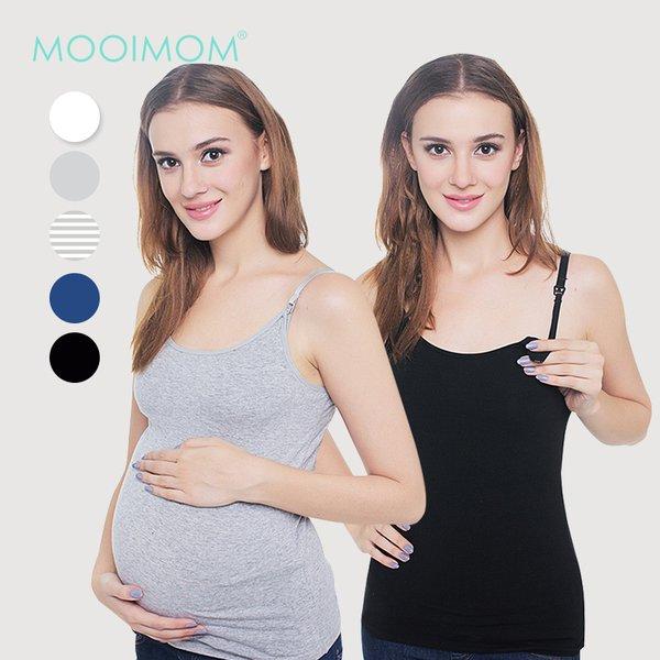 MOOIMOM Cotton Maternity & Nursing Bra Top / Tank Top Bra Hamil Menyusui