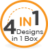 4 in 1 design box